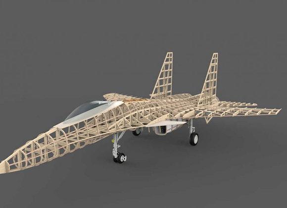 SU-33 Flanker 1:11th Short Kit by Custom Wings