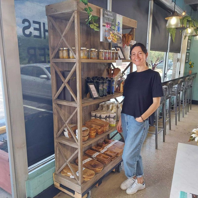 Jamailah products at Eurofoods Cafe and bakery in Charleston SC