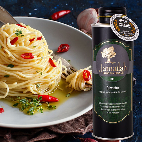 Jamailah Grand Cru Olivastro Organic Olive Oil