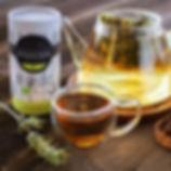 Mountain tea with honey