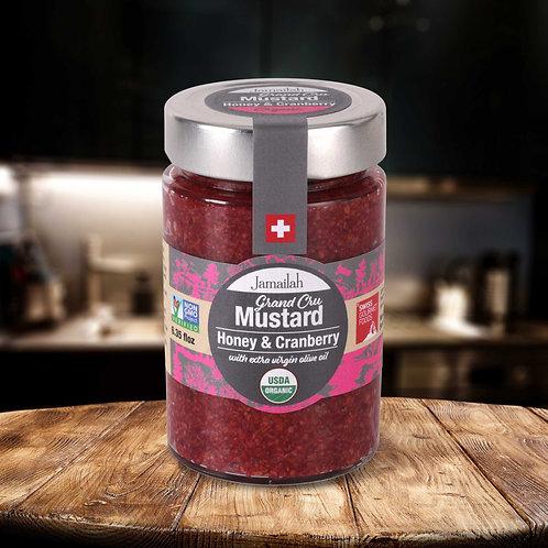 Cranberry Honey Gourmet Mustard