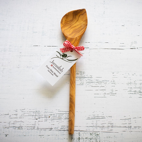 Cooking spoon made from Olive Wood