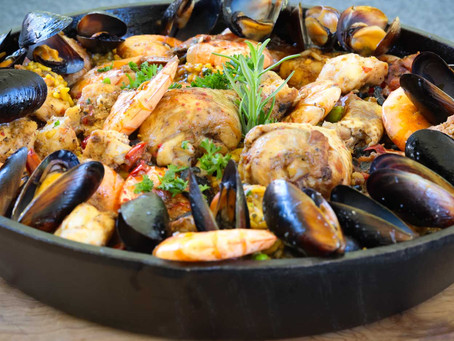 Spanish Paella: For your next dinner gathering