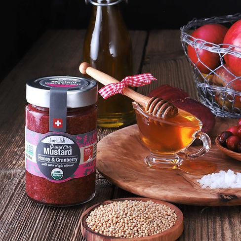 Jamailah's Cranberry Honey Mustard