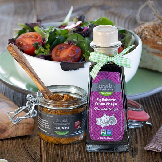 Jamailah's Fig Balsamic Cream Vinegar
