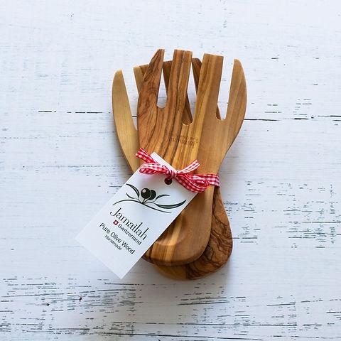 Olive-Wood-Salad-forks-white-Background-