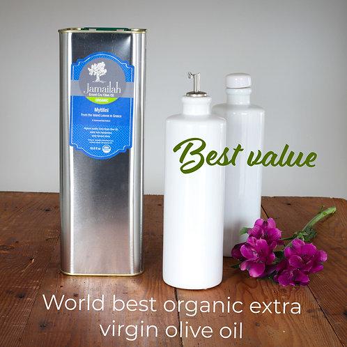 Grand Cru Organic Extra Virgin Olive Oil (1.32 Gallons)