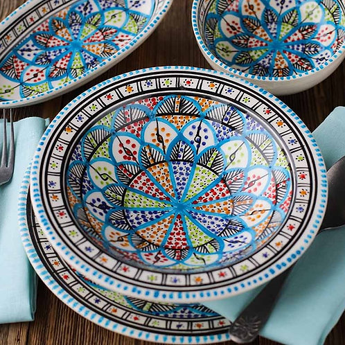 Mediterranean Dish Set of 3 - Kelibia