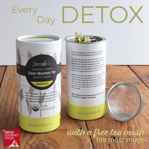 Organic Detox Tea in the Box