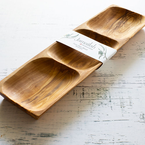 Serving Board made from Olive Wood