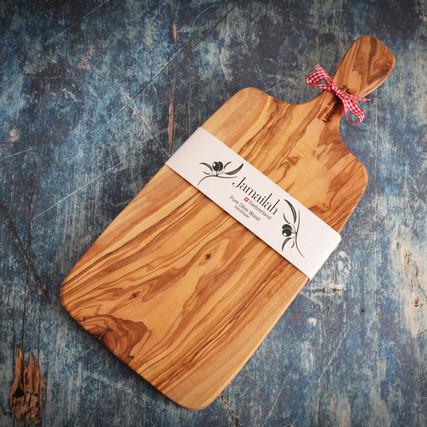 Jamailah Cutting Board Olive Wood