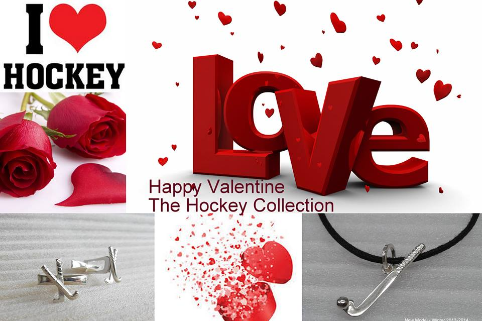 Valentine loves hockey