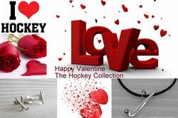 Valentine loves hockey