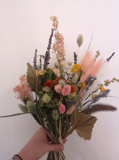 """Early Summer Meadow"" dried bridal bouquet"