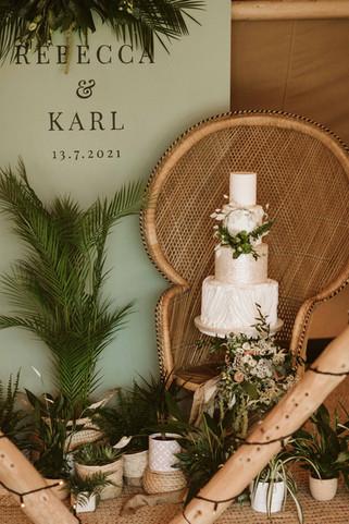 Botonical wedding the petal studio