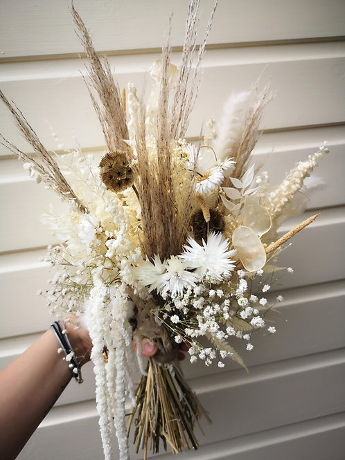 Boho Dream dried bridal bouquet
