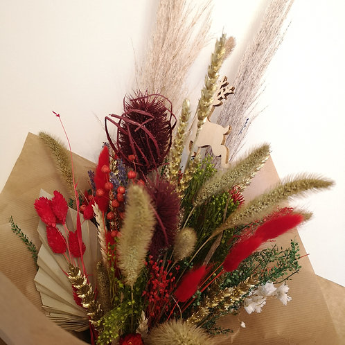 Christmas Dried Flower bouquet