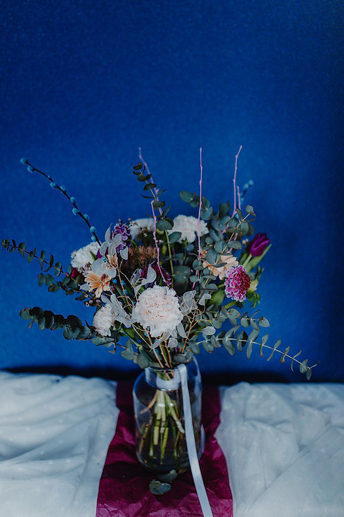 Just Flowers in a Vase