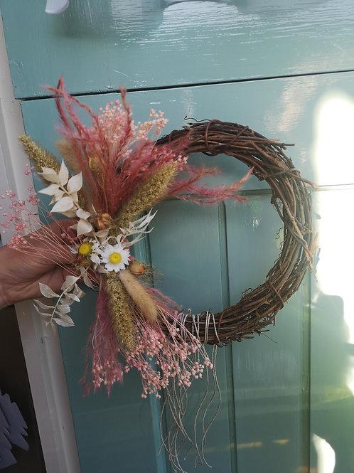 Sweet Romance Wicker Wreath