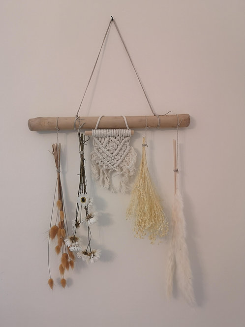 Driftwood Macrame Decor