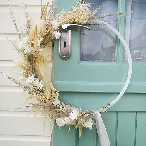 """Free Spirit"" Dried Wreath"