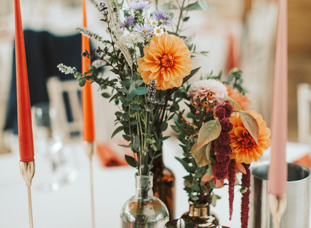 Inspiration to help with your Colour Scheme and Flowers for your big day!