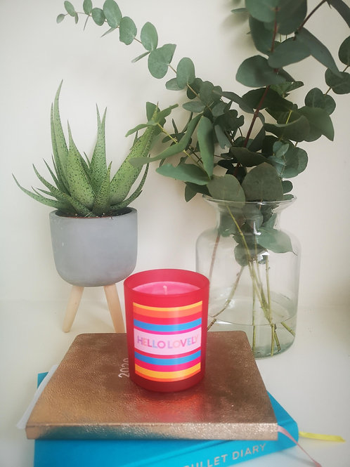 Hello Lovely Candle