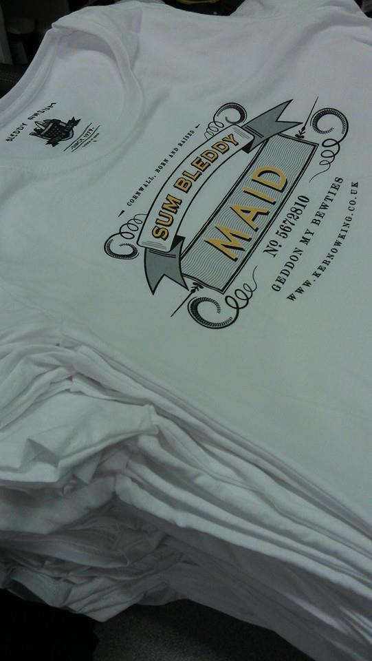 kernow king t-shirts
