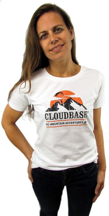 CBN82 (Mountain Adventures) Cloudbase Women's Urban Brushed Jersey T-Shirt