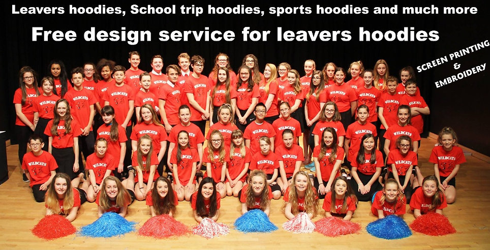 personalised clothing for schools and colleges