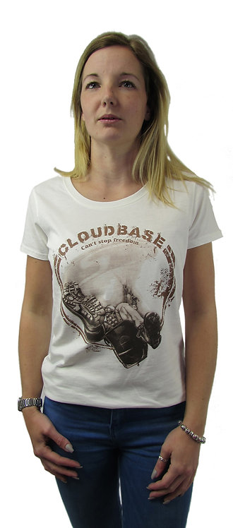 CBN12 Cloudbase Slim Fit Jersey T-Shirt (Cant Stop Freedom)