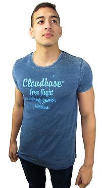 Cloudbase Mens Burnout t-shirt
