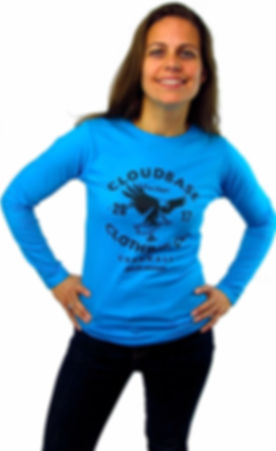 Cloudbase Long Sleeve T-Shirt, Cloudbase Clothing Co. Cornwall