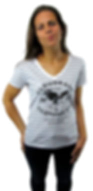 Cloudbase Ladies V Neck T-Shirt