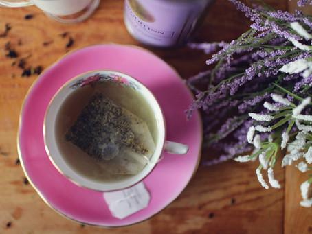 Tea flavour granules