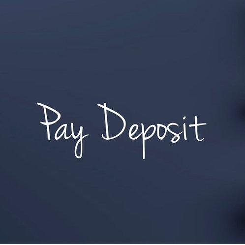 Pay £5pp Deposit