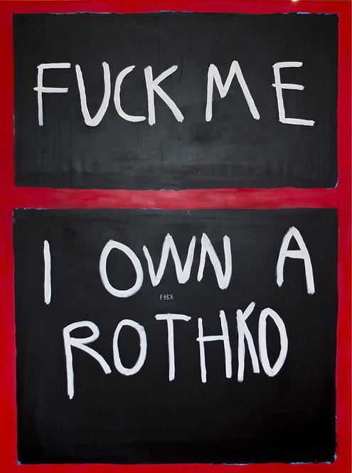 CB Hoyo - Fuck Me Rothko