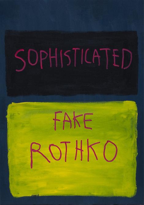 CB Hoyo - Sophisticated Rothko