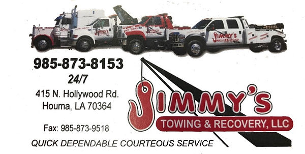 towing houma la marie's towing jimmy's towing