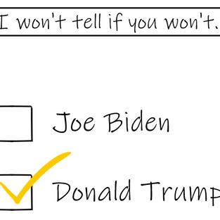 Voting Trump is a dirty little secret it seems