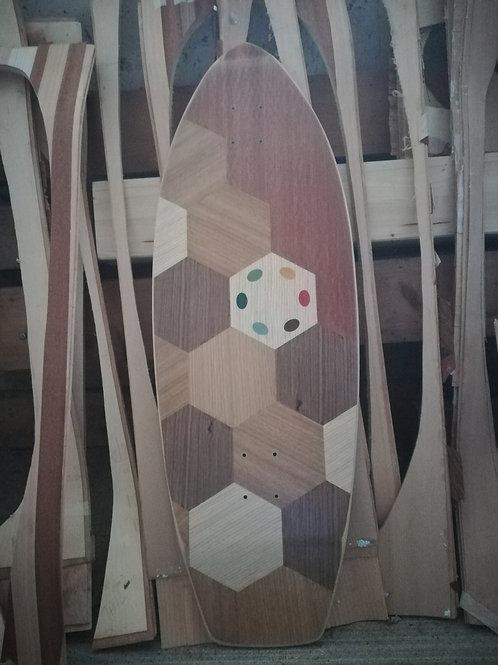 SURFSKATE # MANDELLO WoodLine