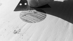 Broken Board Design circle wood veneer f