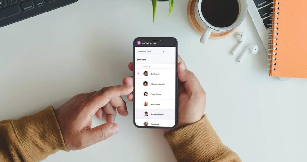 E- Learning platform mobile