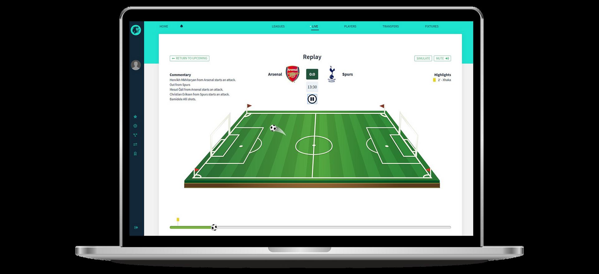 Sports App Replay