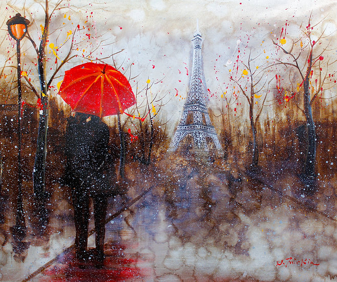 Embracing Couple - Eifel