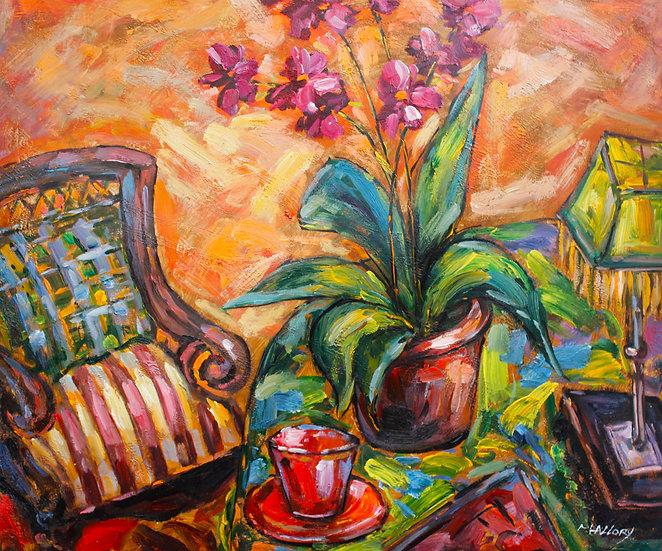 The gardeners chair