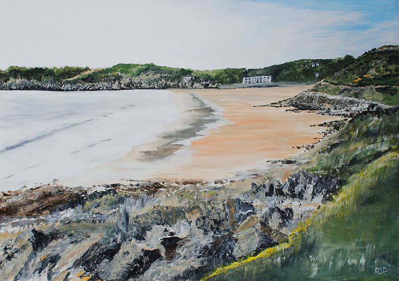 Caswell Bay From The Path