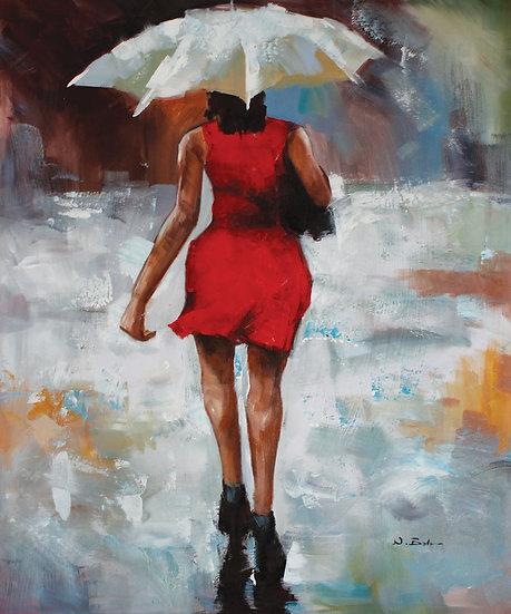 Lady In The Rain (Short)