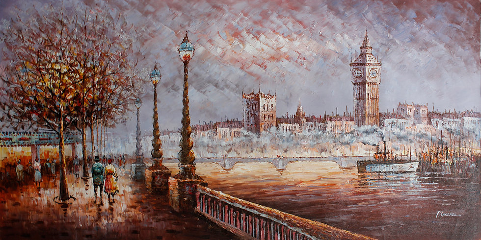 Embankment On the Thames
