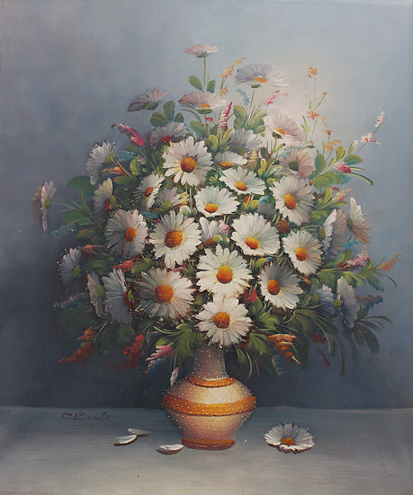 Vas With Daisys